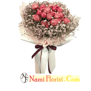 ARTIFICIAL HAND BOUQUET – 06