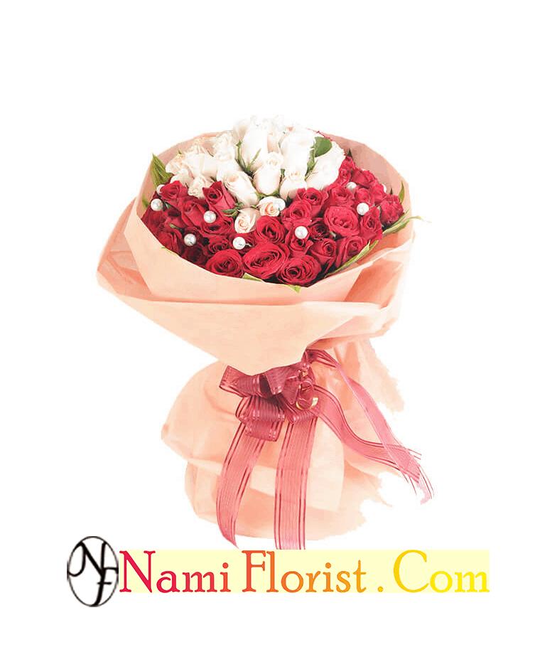 Buket Bunga Mawar Bandung Gratis Ongkir